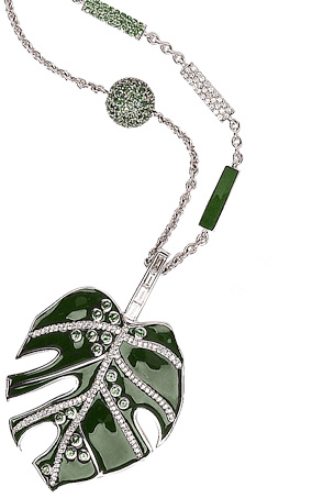 Stenmark | Deliciosa Leaf Pendant and Chain