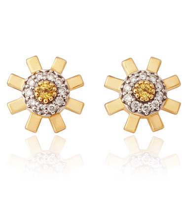 Stenmark Sun Ray Earrings