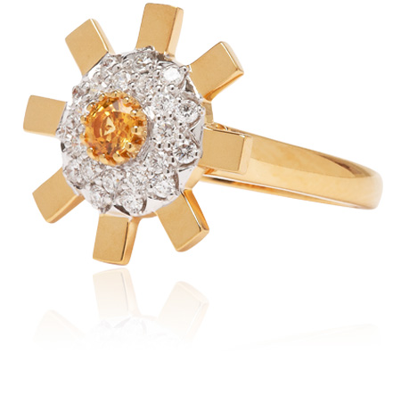 Sunray Ring Small